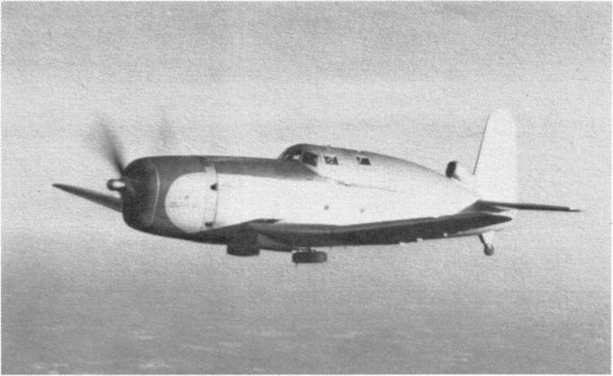 Экспериментальный высотный самолет vought vs-326. сша
