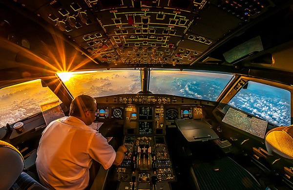 Кабина самолета. фото. описание.