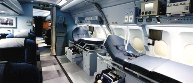 Как перевезти больного самолетом: способы перевозки