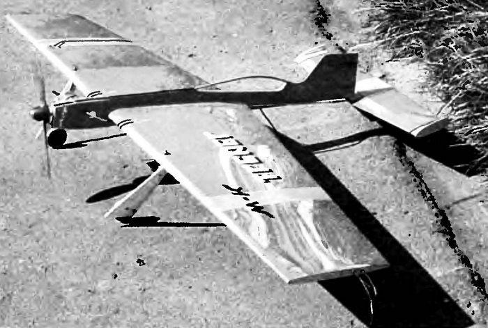 Как сделать из учебной модели пилотажную две модификации кордовой модели самолета