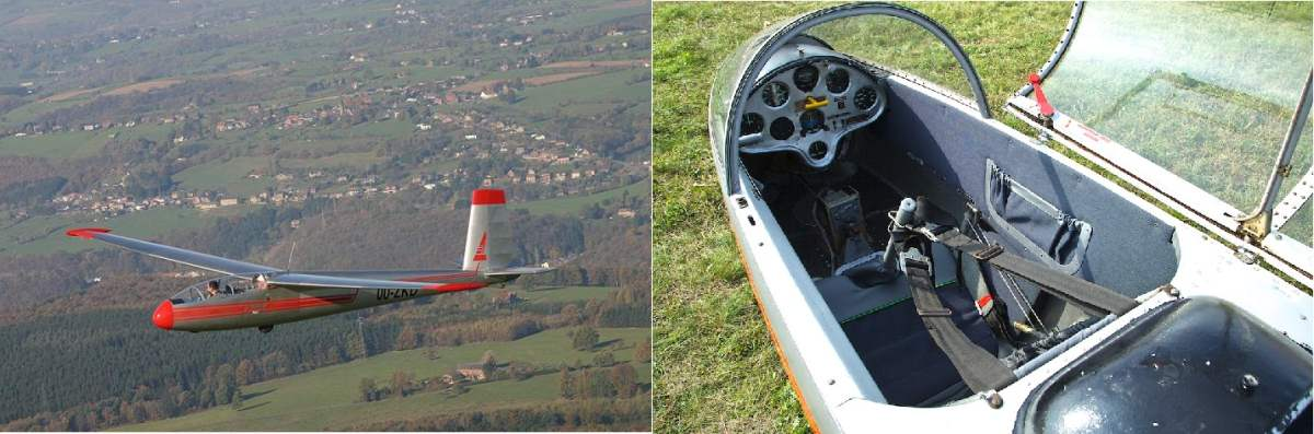 Как учатся летать на планере в разных аэроклубах мира