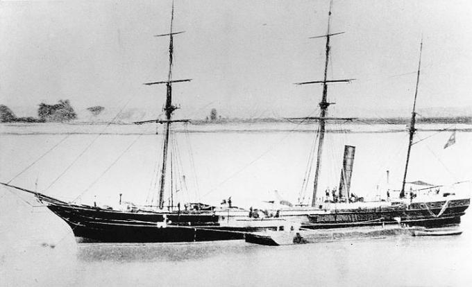 Канонерские лодки тифтов (dixieland)