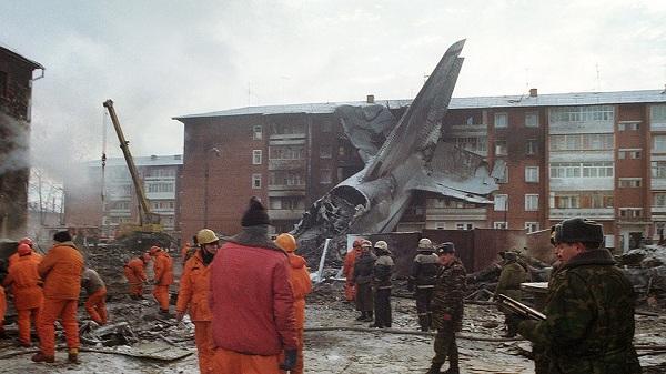 Катастрофа ан-124 в иркутске, 1997 год