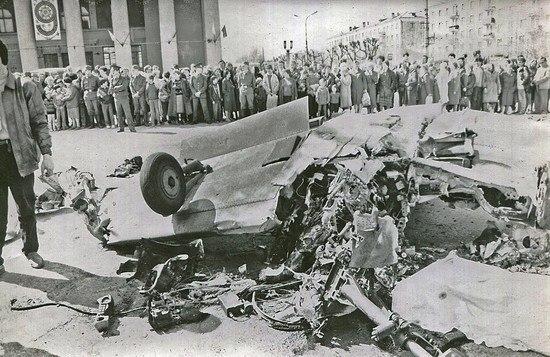 Катастрофа як-52 в нижнем тагиле. 1993