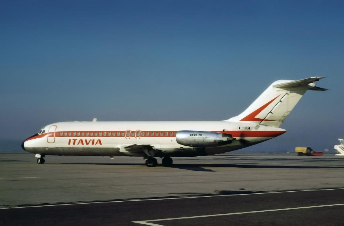 Катастрофа рейса 870. itavia dc-9 в 1980 г.
