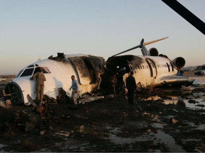 Катастрофа ту-154м в иране. 2009