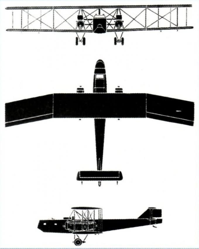 Когда концерн schneider создавал военные самолеты. часть 1 опытный тяжелый ночной бомбардировщик schneider henri-paul