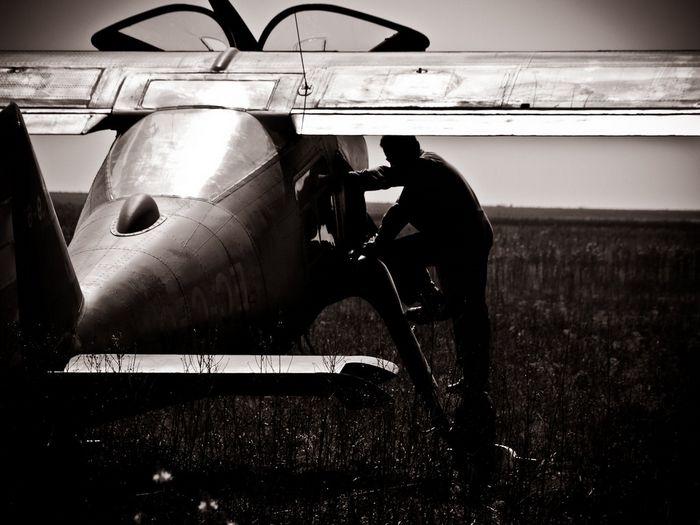 Коллизия образов у пилота самолета. научный подход.