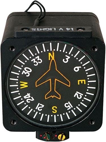 Компас самолета. магнитный компас самолета.