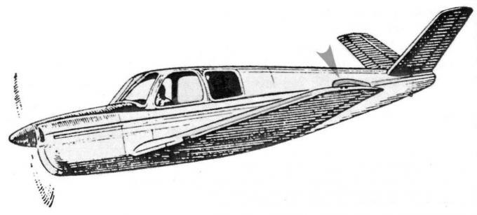 Концевые крыльевые шайбы конструкции родни мак-ганна
