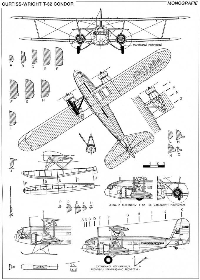 «Кондоры» джорджа пейджа. семейство самолётов на базе curtiss-wright t-32 condor ii. сша часть 2