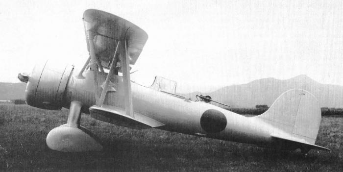 Корабельный разведчик-корректировщик aichi ab-13 (f1a1)