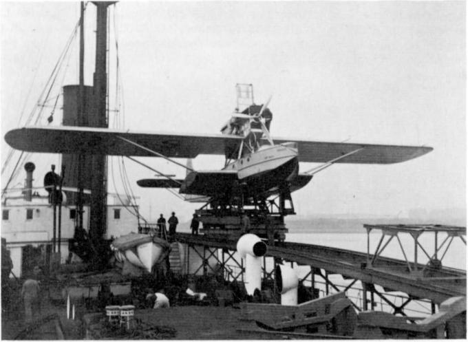 Корабль-база гидросамолетов «westfalen», предназначенный для обеспечения перелётов по маршруту германия – южная америка