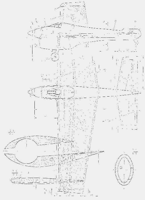 Кордовая гоночная модель самолета