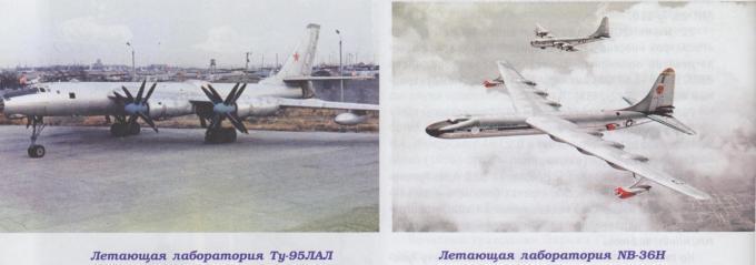 Краткий обзор работ 50-х годов xx века в области создания самолетов с ядерными силовыми установками