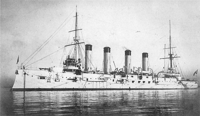 Крейсер i ранга баян - броненосный дальний разведчик (фан)