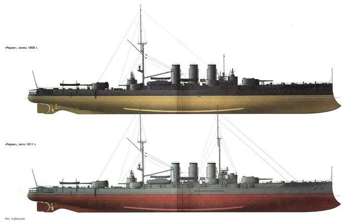 Крейсер красный кавказ: 2 и 2, и еще раз 2.