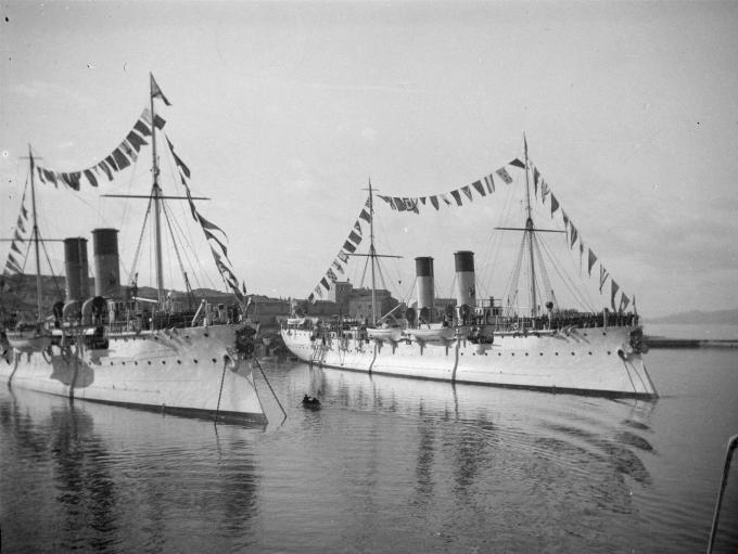 Крейсера-минные заградители iii ранга типа амур (фан)