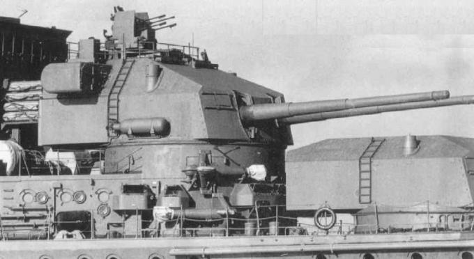 Крейсера проекта 26 и 26-бис. часть 4: и еще немного об артиллерии