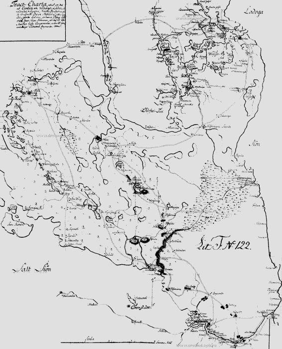 Крепость кроншлот на шведских разведывательных планах начала xviii в.