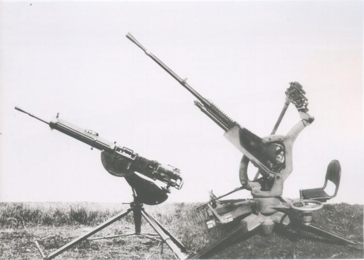 Крупнокалиберные пулеметы италии
