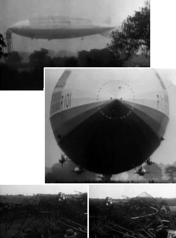 Крушение дирижабля r 38.