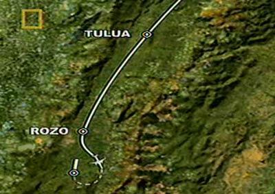 Крушение самолета в горах. самолет упал в горах. 1995 год.