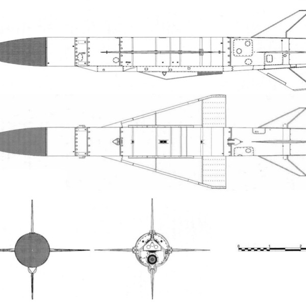 Крылатая ракета х-22 «буря» (изделие д-2).