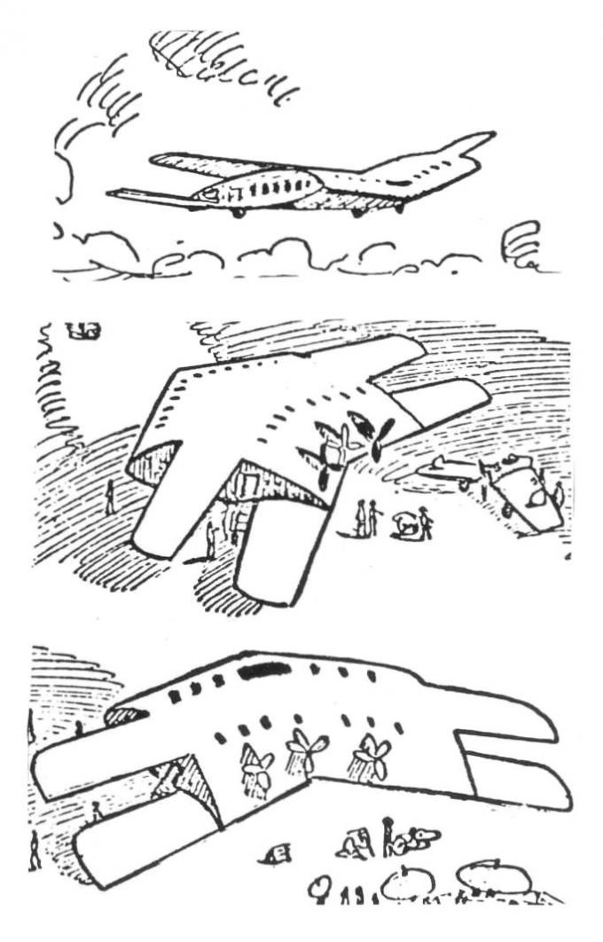Крыло-грузовой отсек от александра зольденхоффа