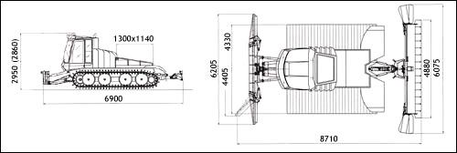 Л-44. технические характеристики. фото.
