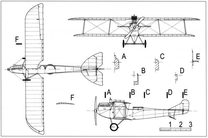 Легкие бомбардировщики и самолеты-разведчики oeffag c.ii (52, 52.5). австро-венгрия