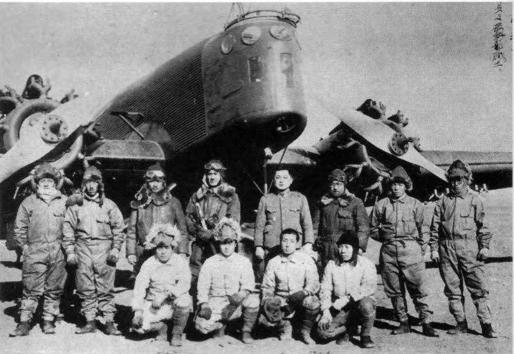 Легкие бомбардировщики ki-2. япония