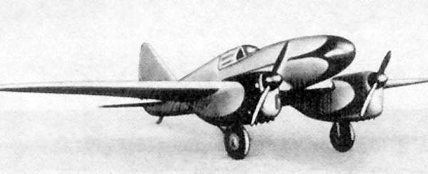 Легкий дальний самолет дг-55 (э-2).