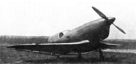 Легкий гоночный самолет бич-21 (сг-1).