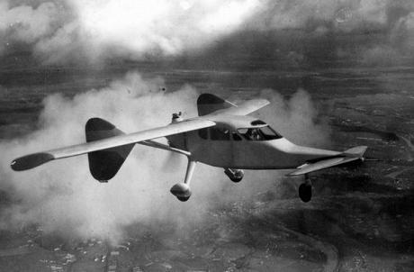 Легкий экспериментальный самолет миг-8 «утка».