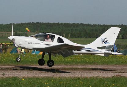 Легкий многоцелевой самолет а-33.