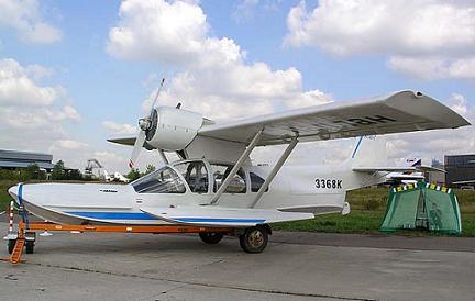 Легкий многоцелевой самолет-амфибия л-471.