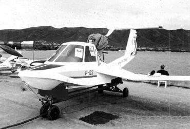 Легкий многоцелевой самолет-амфибия р-02 «роберт».