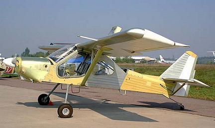 Легкий многоцелевой самолет и-1л «леший».