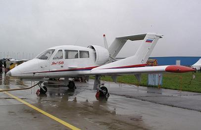 Легкий многоцелевой самолет як-58.