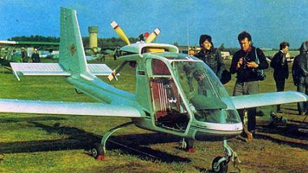 Легкий многоцелевой самолет «эльф».