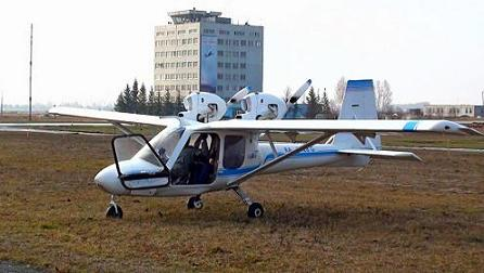 Легкий многоцелевой самолет м-12 «касатик».