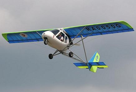 Легкий многоцелевой самолет «птенец-2».