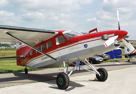 Легкий многоцелевой самолет т-507.