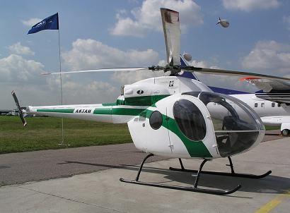 Легкий многоцелевой вертолет «актай».
