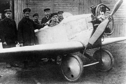 Легкий самолет ант-1. первый самолет а.н.туполева.