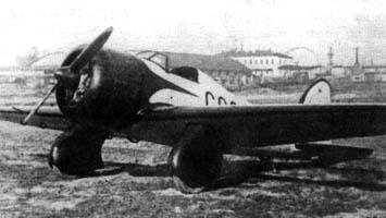 Легкий самолет г-15.