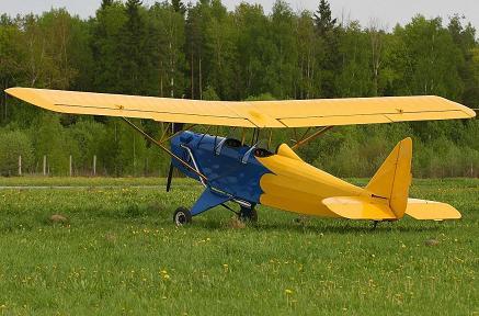 Легкий самолет «настойчивый».