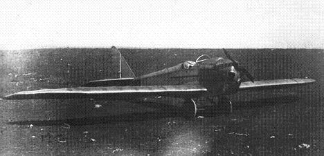 Легкий самолет раф-1.