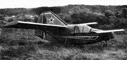 Легкий самолет рб-17.
